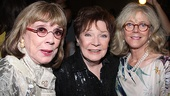 <i>Follies</i> opening night – Phyllis Newman – Polly Bergen – Blythe Danner