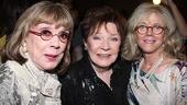 <i>Follies</i> opening night – Phyllis Newman – Polly Bergen – Blythe Danner