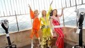 Mamma Mia Empire State Building – Jennifer Perry – Judy McLane – Lisa Brescia (observation deck pose)
