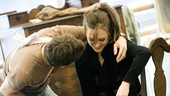 <i>Bonnie & Clyde</i> Rehearsal -  Jeremy Jordan - Laura Osnes