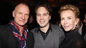 Other Desert Cities Broadway Opening Night – Sting – Thomas Sadoski – Trudie Styler