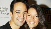 Lin-Manuel Miranda couldn't enjoy an opening without his lovely wife Vanessa by his side.