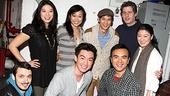 Harry Shum Jr. at Chinglish – Harry Shum, Jr. and the cast of Chinglish