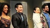 Opening Night of Outside People – Sonequa Martin-Green – Nelson Lee – Li Jun Li – Matthew Dellapina