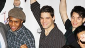 Newsies - Ephraim M. Sykes, Jeremy Jordan and Kyle Coffman