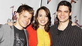 Newsies- Jeremy Jordan, Andrew Keenan-Bolger, and Kara Lindsay