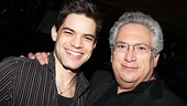 Newsies- Jeremy Jordan and Harvey Fierstein