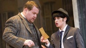 James Corden and Jemima Rooper in One Man, Two Guvnors.