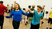 Newsies- Kara Lindsay and Jess LeProtto