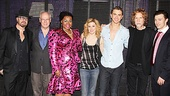 The stars and writers of Ghost get together to mark this momentous Broadway occasion.