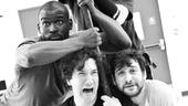 Peter and the Starcatcher Rehearsal – Isaiah Johnson – Carson Elrod – Matt D'Amico – Teddy Bergman