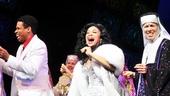 Raven-Symoné Opening Night in Sister Act – Chester Gregory - Raven-Symoné – Carolee Carmello