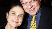 Tony nominee Tovah Feldshuh shares this thrilling opening night with her husband, Andrew Harris-Levy.