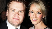 Julia Carey isn't simply James Corden's fiancée, she's his number one fan.