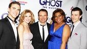 Ghost Opening Night – Richard Fleeshman – Caissie Levy – Matthew Warchus – Da'Vine Joy Randolph – Bryce Pinkham