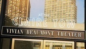 Claire Tow Theater Celebration- Marquee