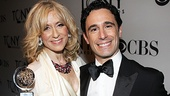 2012 Tony Awards Winner's Circle – Judith Light- Christopher Gattelli