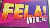Fela Opening Night 2012 – Fela Marquee