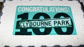 Clybourne Park 100 Performances – cake
