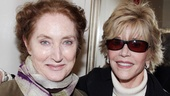 The Heiress – Jane Fonda and Sally Field Visit – Caitlin O'Connell – Jane Fonda