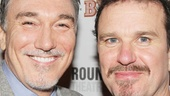 They may spar onstage, but Patrick Page and Douglas Hodge get along just swimmingly in real life.