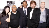 'Wild With Happy' Opening Night — Mandy Hackett — Robert O'Hara — Colman Domingo — Oskar Eustis — Patrick Willingham