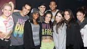 Gabby Douglas, McKayla Maroney and Aly Raisman at 'Bring It On' — Brooklyn Alexis Freitag — Bettis Richardson — Gabby Douglas — Michael Mindlin — Lauren Whitt — Antwan Bethea — McKayla Maroney — Aly Raisman — Casey Jamerson