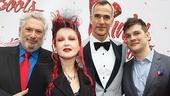 Kinky Boots Opening- Harvey Fierstein- Cyndi Lauper- Jerry Mitchell- Stephen Oremus