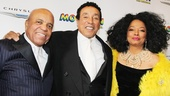 'Motown' Opening Night — Berry Gordy — Smokey Robinson — Diana Ross