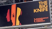 'The Big Knife' Opening — Marquee