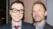 Jim Parsons and John Benjamin Hickey lend support to their Normal Heart castmate, I'll Eat You Last director Joe Mantello.