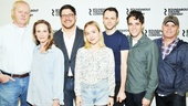 'The Unavoidable Disappearance of Tom Durnin' Meet and Greet — David Morse — Lisa Emery — Rich Sommer — Sarah Goldberg — Christopher Denham — Steven Levenson — Scott Ellis