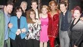 Celebs at Kinky Boots — Daniel Stewart Sherman — Lily Tomlin — Harvey Fierstein — Patti LuPone — Stark Sands — Annaleigh Ashford — Billy Porter — Matt Morrison — Cyndi Lauper