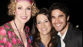 Lucky Eleni! She has worked as the Broadway assistant to both Jane Lynch and Darren Criss.