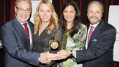 2013 Drama League Awards Luncheon — Howard Kagan — Janet Kagan — Diane Paulus — Barry Weissler