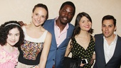 2013 Drama League Awards Luncheon — Lilla Crawford — Tracee Chimo — Stephen Tyrone Williams — Phillipa Soo — Ryan Silverman