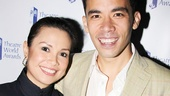 Theater legend Lea Salonga shares a bond with Here Lies Love winner Conrad Ricamora.