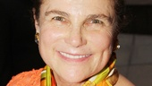 Orange you glad you came out for opening night, Tovah Feldshuh!? (Don't worry, there are no such puns in Tom Durnin.)