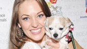 Broadway Barks 2013 — Laura Osnes
