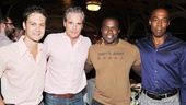 Van Hughes and Joshua Henry catch up with Michael Park and Michael McElroy, who originated the roles played by Hughes and Henry in off-Broadway's original Violet.