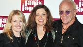 'A Night with Janis Joplin' Press Event — Patricia Wilcox — Mary Bridget Davies — Randy Johnson