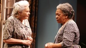 Lois Smith as Mamie Borden and Novella Nelson as Hattie in The Old Friends