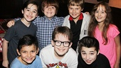 NEWSIES- Josh Colley- Nicholas Lampiasi- Luke Koble Mannikus – Sydney Lucas –Luca Padovan – Jake Lucas – Cameron Colley