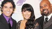 American Theatre Wing – Hal Prince Gala 2013 – Adam Jacobs – Courtney Reed – James Monroe Iglehart