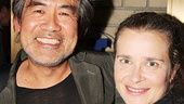 'The Glass Menagerie' Opening — David Henry Hwang — Kathryn Layng