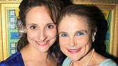 Tracee Chimo gets some opening love from Tovah Feldshuh, who recently joined the high-flying cast of Pippin on Broadway.