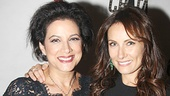 Saundra Santiago and Tony winner Laura Benanti, who co-starred with Rivera in Roundabout's 2003 revival of Nine, are on hand to celebrate with their favorite diva.