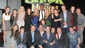 This is our story! The full company of Shrek comes together for a fun photo. Don't forget to pick up the musical on DVD!