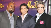 Aladdin - Meet and Greet - OP - James Monroe Iglehart - Adam Jacobs - Jonathan Freeman