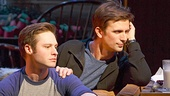 Bobby Steggert as Will Ogden & Frederick Weller as Cal Porter in Mothers and Sons